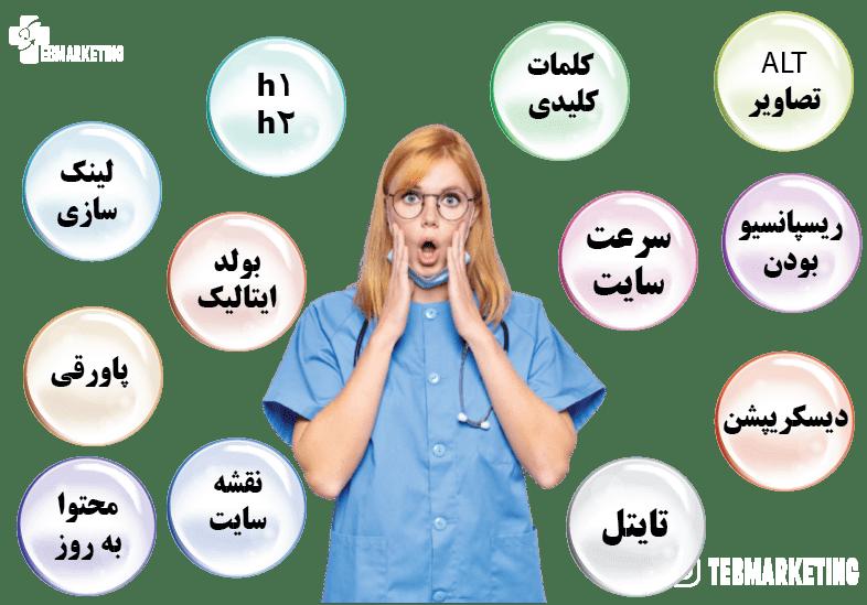 سئو داخلی سایت پزشکی چیست؟